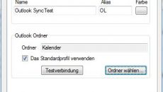 Outlook Synchronisierung